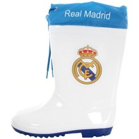 Sapatos Rapaz Botas de borracha Real Madrid RM12976 Blanco