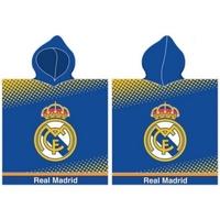Casa Criança Toalha e luva de banho Real Madrid RM171171 Azul