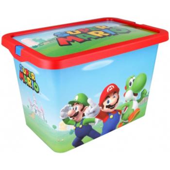 Casa Criança Malas, carrinhos de Arrumação  Super Mario Bros 9594 Azul