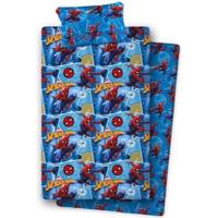 Casa Rapaz Conjunto de roupa de cama Spiderman AYM-032SP-BD 105 Azul