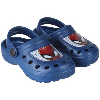 Sapatos Rapaz Tamancos Spiderman 2300004300B Azul