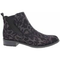 Sapatos Mulher Sapatilhas de cano-alto Marco Tozzi 222532133241 Preto, Castanho