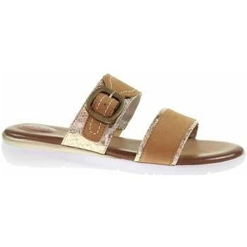 Sapatos Mulher Chinelos Jana 882710726339 Castanho