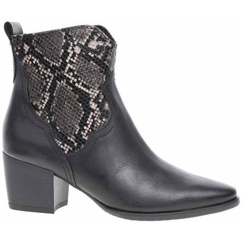 Sapatos Mulher Botins Marco Tozzi 222535323096 Preto, Grafite