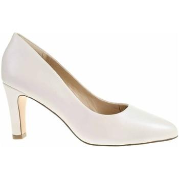Sapatos Mulher Escarpim Caprice 992240024139 Creme
