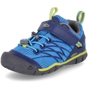 Sapatos Rapaz Sapatos de caminhada Keen Chandler Cnx Azul