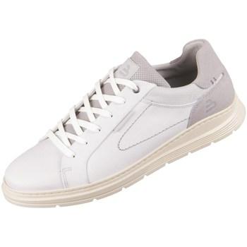 Sapatos Homem Sapatilhas Bullboxer 895K20968AWHLGSU00 Branco, Cinzento