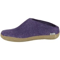 Sapatos Mulher Chinelos Glerups B0500 Roxo