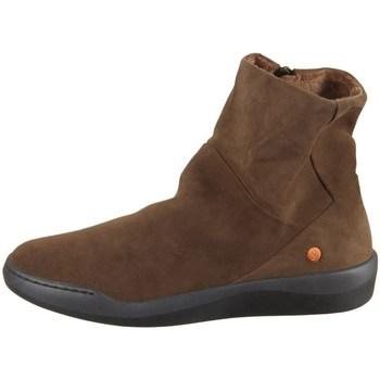 Sapatos Mulher Botas baixas Softinos P900550008 Castanho
