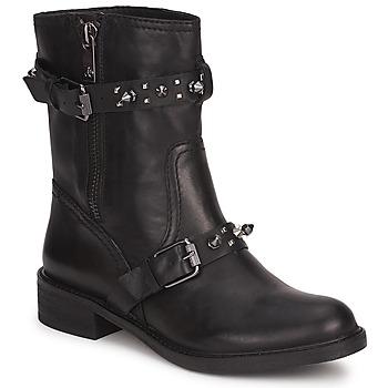 Sapatos Mulher Botas baixas Sam Edelman ADELE Preto