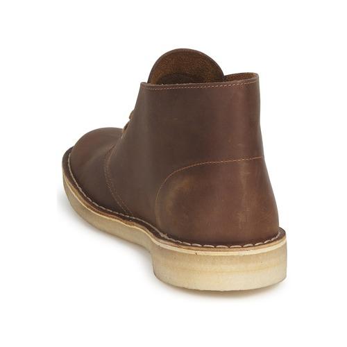 Clarks Desert Boot Castanho - Entrega Gratuita- Sapatos Botas Baixas Homem 122