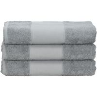 Casa Toalha e luva de banho A&r Towels 50 cm x 100 cm Antracite Grey