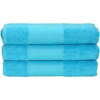 Casa Toalha e luva de banho A&r Towels 50 cm x 100 cm Aqua Blue