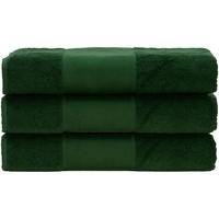 Casa Toalha e luva de banho A&r Towels 50 cm x 100 cm Verde Escuro