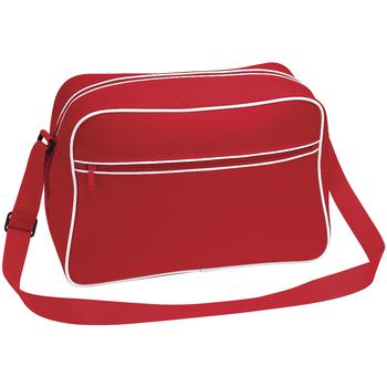 Malas Rapaz Bolsa tiracolo Bagbase BG14 Clássico vermelho/branco