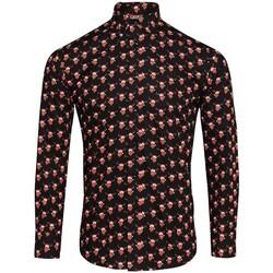 Textil Homem Camisas mangas comprida Christmas Shop CS001 Renas Negras