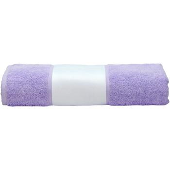 Casa Toalha e luva de banho A&r Towels 50 cm x 100 cm Púrpura claro