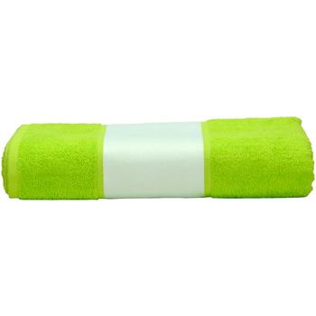 Casa Toalha e luva de banho A&r Towels 50 cm x 100 cm Verde lima