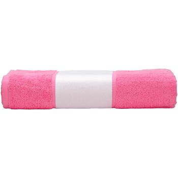 Casa Toalha e luva de banho A&r Towels 50 cm x 100 cm Pink
