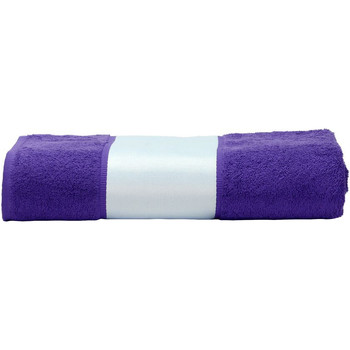 Casa Toalha e luva de banho A&r Towels 50 cm x 100 cm Púrpura