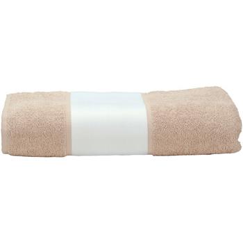 Casa Toalha e luva de banho A&r Towels 50 cm x 100 cm Areia