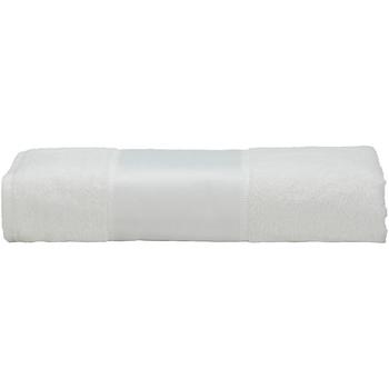 Casa Toalha e luva de banho A&r Towels 50 cm x 100 cm Branco