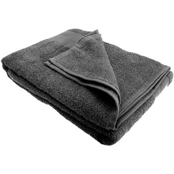 Casa Toalha e luva de banho Sols Taille unique Cinza Escuro