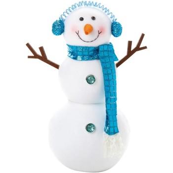 Casa Decorações festivas Christmas Shop RW5870 Branco/azul