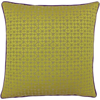 Casa Capas de Almofada Riva Home 45x45cm Ouro/Púrpura