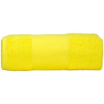 Casa Toalha e luva de banho A&r Towels Taille unique Amarelo Brilhante
