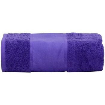 Casa Toalha e luva de banho A&r Towels Taille unique Púrpura