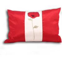 Casa Capas de Almofada Riva Home 35x50cm Cream/Red