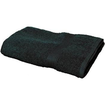 Casa Toalha e luva de banho Towel City Taille unique Preto