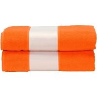 Casa Toalha e luva de banho A&r Towels Taille unique Laranja Brilhante