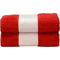 Casa Toalha e luva de banho A&r Towels Taille unique Vermelho Fogo
