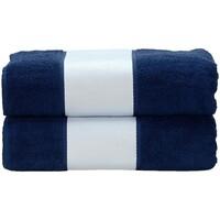 Casa Toalha e luva de banho A&r Towels Taille unique marinha francesa