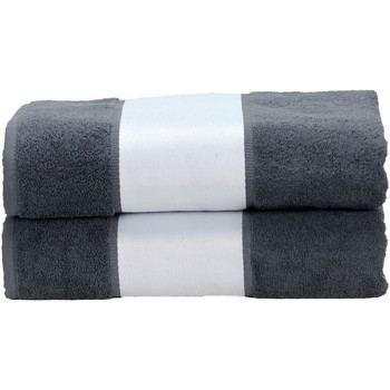 Casa Toalha e luva de banho A&r Towels Taille unique Graphite