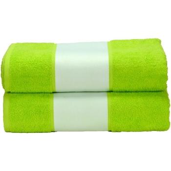 Casa Toalha e luva de banho A&r Towels Taille unique Verde lima