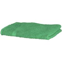 Casa Toalha e luva de banho Towel City Taille unique Verde Brilhante