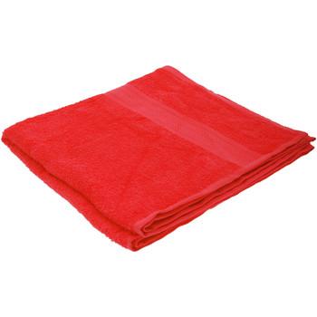 Casa Toalha e luva de banho Jassz Taille unique Vermelho
