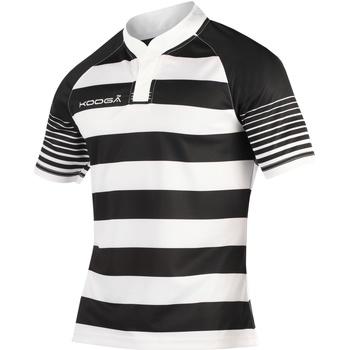 Textil Rapaz T-Shirt mangas curtas Kooga K106B Preto/branco