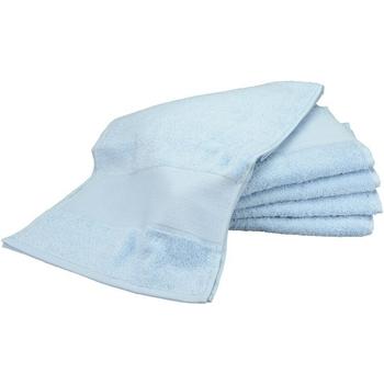 Casa Toalha e luva de banho A&r Towels Taille unique Azul claro