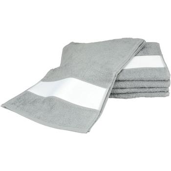 Casa Toalha e luva de banho A&r Towels 30 cm x 140 cm Antracite Grey