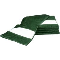 Casa Toalha e luva de banho A&r Towels 30 cm x 140 cm Verde Escuro