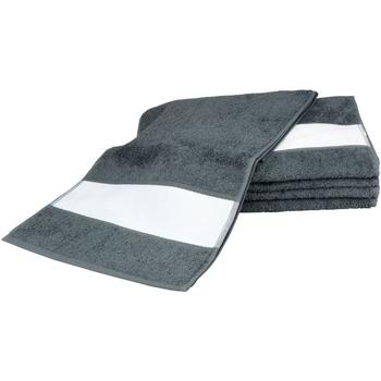 Casa Toalha e luva de banho A&r Towels 30 cm x 140 cm Graphite