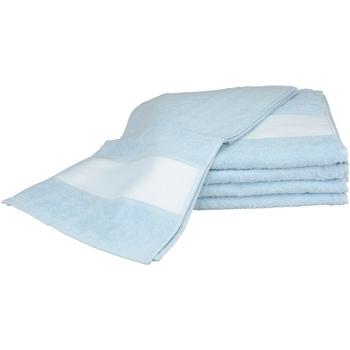 Casa Toalha e luva de banho A&r Towels 30 cm x 140 cm Azul claro