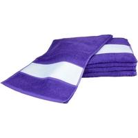 Casa Toalha e luva de banho A&r Towels 30 cm x 140 cm Púrpura
