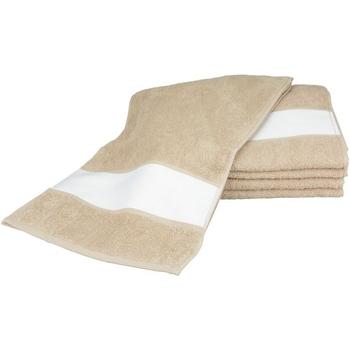 Casa Toalha e luva de banho A&r Towels 30 cm x 140 cm Areia