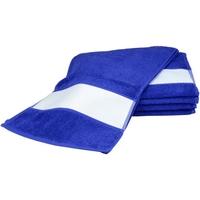Casa Toalha e luva de banho A&r Towels 30 cm x 140 cm Azul Verdadeiro