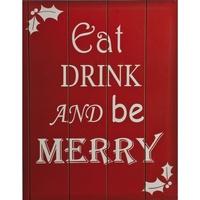 Casa Decorações festivas Christmas Shop RW5111 Vermelho